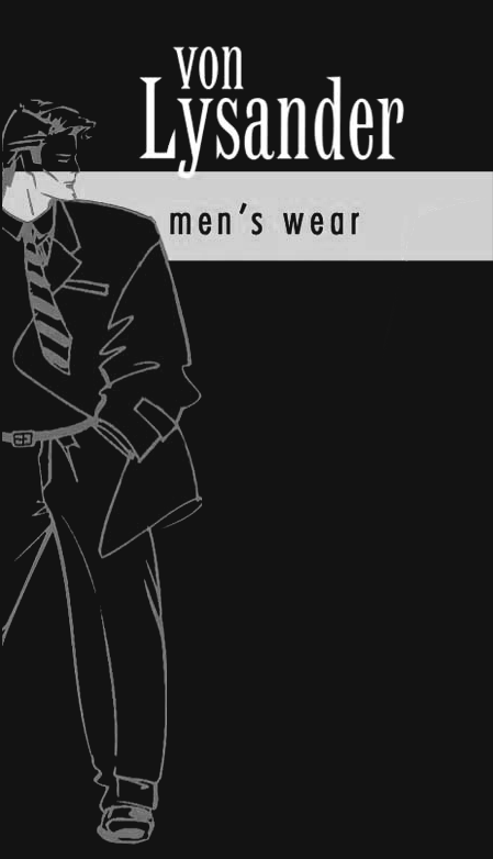 men´s wear – Von Lysander - Logo